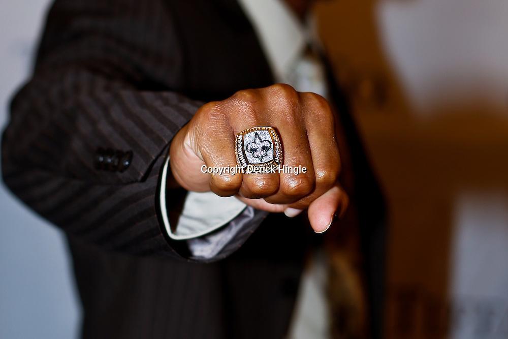 NFL: New Orleans Saints Super Bowl Ring Ceremony | Derick Hingle ...