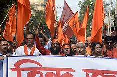 India: Hindu activists rallied for rights in Kolkata, 12 Nov. 2016