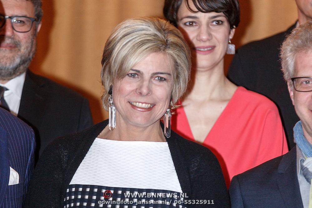 NLD/Amsterdam/20160315 - Uitreiking van de ECF Princess Margriet Award, Pr. Laurentien