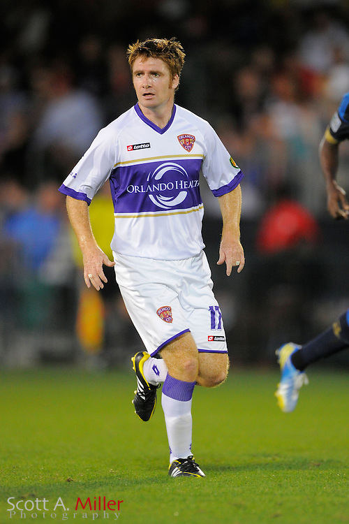 Orlando City Lions midfielder James O'Connor (17) during the Disney Pro Soccer Classic on Feb 9, 2013  in Lake Beuna Vista, Florida. ..©2013 Scott A. Miller