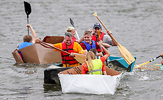 10/06/19 United Way Cardboard Boat Races @ Maple Lake