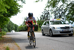 Doris Schweizer (Cylance Pro Cycling) on her way to a seveth place finish at Giro Rosa 2016 - Stage 7. A 21.9 km individual time trial from Albisola to Varazze, Italy on July 8th 2016.