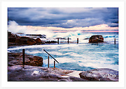 Mahon Pool, Maroubra, on a stormy winter afternoon [Maroubra, NSW]<br />