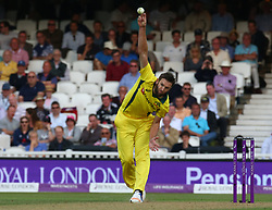 June 13, 2018 - London, England, United Kingdom - Andrew Tye of Australia.during One Day International Series match between England and Australia at Kia Oval Ground, London, England on 13 June 2018. (Credit Image: © Kieran Galvin/NurPhoto via ZUMA Press)