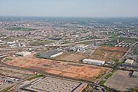 Aerial shot of old GM Properties now Duke Properties
