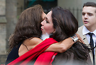 11.09.2014;London, England: AYESHA SHAND (Mark's Daughter) HUGS MOTHER CLIO GOLDSMITH<br /> at the Memorial Service for Mark Shand at St Paul's Knightsbridge,London.<br /> Mark, Camilla's brother died in New York earlier this year.<br /> Mandatory Photo Credit: &copy;Francis Dias/NEWSPIX INTERNATIONAL<br /> <br /> **ALL FEES PAYABLE TO: &quot;NEWSPIX INTERNATIONAL&quot;**<br /> <br /> PHOTO CREDIT MANDATORY!!: NEWSPIX INTERNATIONAL(Failure to credit will incur a surcharge of 100% of reproduction fees)<br /> <br /> IMMEDIATE CONFIRMATION OF USAGE REQUIRED:<br /> Newspix International, 31 Chinnery Hill, Bishop's Stortford, ENGLAND CM23 3PS<br /> Tel:+441279 324672  ; Fax: +441279656877<br /> Mobile:  0777568 1153<br /> e-mail: info@newspixinternational.co.uk
