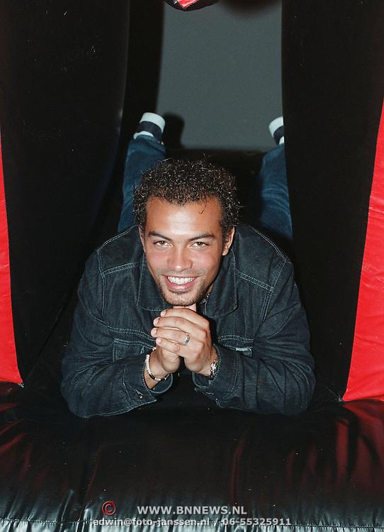 Persconferentie MTV Nederland Amsterdam, Romeo Egbeama