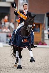 Gal Edward, NED, Glock's Voice<br /> Nederlands Kampioenschap Dressuur <br /> Ermelo 2017<br /> © Hippo Foto - Dirk Caremans<br /> 16/07/2017