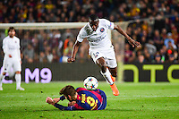 Blaise MATUIDI / Gerard PIQUE - 21.04.2015 - Barcelone / Paris Saint Germain - 1/4Finale Retour Champions League<br />