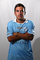 CAMPEONATO ARGENTINO Soccer / Football. <br /> TEMPERLEY Portraits <br /> Bs.As. Argentina. - March 18, 2015<br /> Here Temperley player Emiliano Terzaghi<br /> © PikoPress