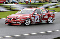 #2 Neil Smith - Alfa 156 during HSCC Super Touring Car Championship qualifying at Oulton Park, Little Budworth, Cheshire, United Kingdom. June 07 2014. World Copyright Peter Taylor/PSP. Copy of publication required for printed pictures.  Every used picture is fee-liable. http://archive.petertaylor-photographic.co.uk