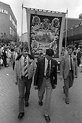 Kiverton Park banner, 1983 Yorkshire Miner's Gala. Barnsley