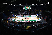 NIKON D5 • AF Fisheye Nikkor 16mm f/2.8D<br /> f/8 • ISO 320 • 1/20<br /> <br /> Panoramica Palazzetto, Arena, Tifosi, Coreografia<br /> Umana Reyer Venezia - Happy Casa Brindisi<br /> LBA Final Eight 2020 Zurich Connect - Finale<br /> Basket Serie A LBA 2019/2020<br /> Pesaro, Italia - 16 February 2020<br /> Foto Mattia Ozbot / CiamilloCastoria
