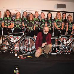 16-02-2018: Wielrennen: teampresentatie Parkhotel: Valkenburg<br />De vrouwen van Parkhotel Valkenburg voorgesteld op een locatie die voor de hand ligt. Met veel jonge talenten én nieuw elan klonk er veel vertrouwen richting het nieuwe wielerseizoen.