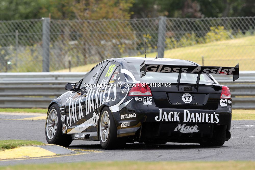 Rick Kelly (Jack Daniel's Racing Holden). 2012 V8 Supercar Championship Series Test Day. Sandown International Raceway, Melbourne Victoria on Saturday 11 February 2012. Photo : Clay Cross / photosport.co.nz