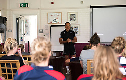 Performance coach Dr Dave Alred talks to Bristol Ladies - Mandatory by-line: Paul Knight/JMP - 29/07/2017 - RUGBY - Bristol Ladies Rugby pre-season training