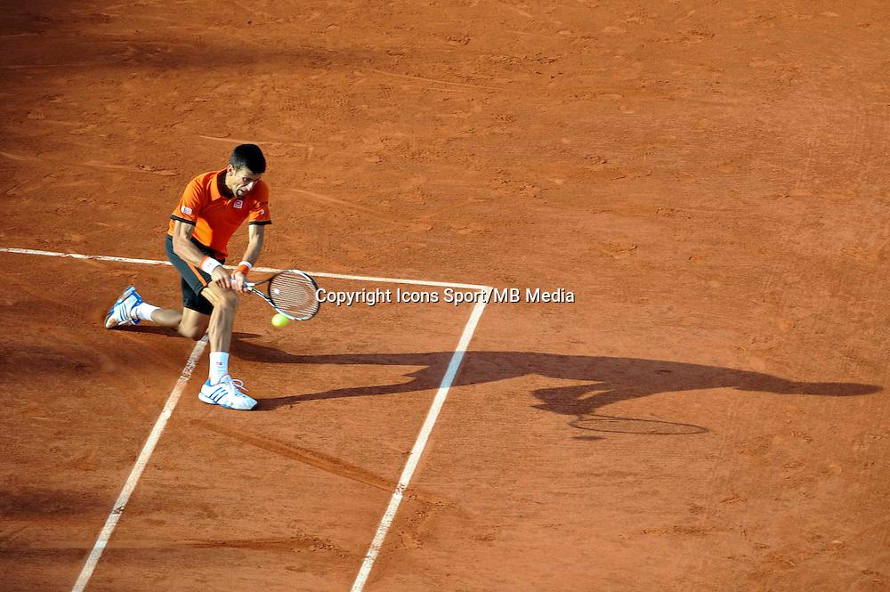 Novak DJOKOVIC  - 01.06.2015 - Jour 9 - Roland Garros 2015<br /> Photo : Nolwenn Le Gouic / Icon Sport