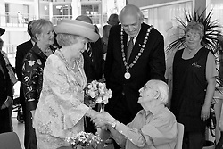 Reinaldahuis, Haarlem, NL - June 13, 2006; Queen Beatrix opens the new Reinaldahuis in the Schalkwijk section of Haarlem.