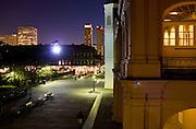 Elevated views of Jackson Square and the Cabildo