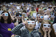 2014 APR 23: The Colorado Rockies, along with 9 News, hosted their annual Weather and Science Day at Coors Field in Denver, CO Photo: Evert Nelson/Clarkson Creative