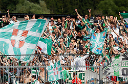 31.05.2015, Stadion Wolfsberg, Wolfsberg, AUT, 1. FBL, RZ Pellets WAC vs SK Rapid Wien, 35. Runde, im Bild v.l. Fans von Rapid Wien // during the Austrian Football Bundesliga 35th Round match between RZ Pellets WAC and SK Rapid Vienna at the Stadium Wolfsberg in Wolfsberg Austria on 2015/05/31, EXPA Pictures © 2015, PhotoCredit: EXPA/ Wolfgang Jannach