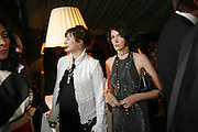 Francesca Amfiterof and Annabel Neilson, Ark Gala Dinner, Marlborough House, London. 5 May 2006. ONE TIME USE ONLY - DO NOT ARCHIVE  © Copyright Photograph by Dafydd Jones 66 Stockwell Park Rd. London SW9 0DA Tel 020 7733 0108 www.dafjones.com