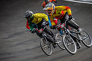 Cruiser - 13 & 14 Men #43 (CALLUM Jordan) AUS at the 2018 UCI BMX World Championships in Baku, Azerbaijan.