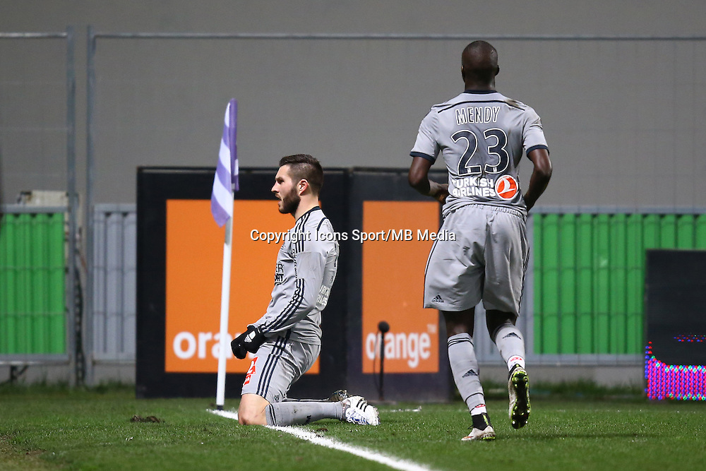 Joie Andre Pierre GIGNAC- 06.03.2015 - Toulouse / Marseille - 28eme journee de Ligue 1<br />