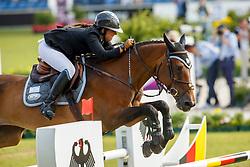 Goldstein Danielle, (ISR), Carisma<br /> Individual round 3 and Team Final<br /> FEI European Championships - Aachen 2015<br /> © Hippo Foto - Dirk Caremans<br /> 21/08/15