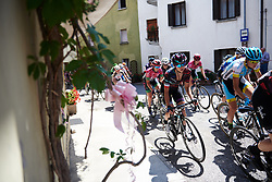 Kasia Niewiadoma (POL) in the bunch at Giro Rosa 2018 - Stage 10, a 120.3 km road race starting and finishing in Cividale del Friuli, Italy on July 15, 2018. Photo by Sean Robinson/velofocus.com