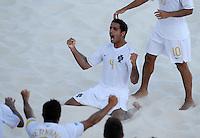 FIFA BEACH SOCCER WORLD CUP 2008 PORTUGAL - SPAIN  27.07.2008 TORRES (POR) celebrates his goal.