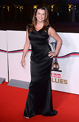 Suzi Perry arriving at The Millies 2016, Guildhall, London. Picture Credit Should Read: Doug Peters/EMPICS Entertainment