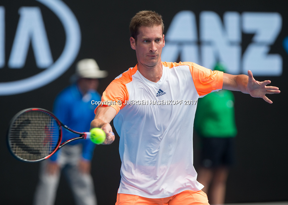 FLORIAN MAYER (GER)<br /> <br /> Australian Open 2017 -  Melbourne  Park - Melbourne - Victoria - Australia  - 17/01/2017.