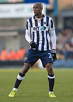 Football - 2016 / 2017 FA Cup - Fifth Round: Millwall vs. Leicester City <br /> <br /> Jimmy Abdou of Millwall at The Den<br /> <br /> COLORSPORT/DANIEL BEARHAM
