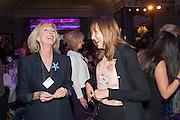 EVE LOM; CATH KIDSTON, Natwest Everywoman awards reception. The Dorchester Hotel. London. 5 December 2012.