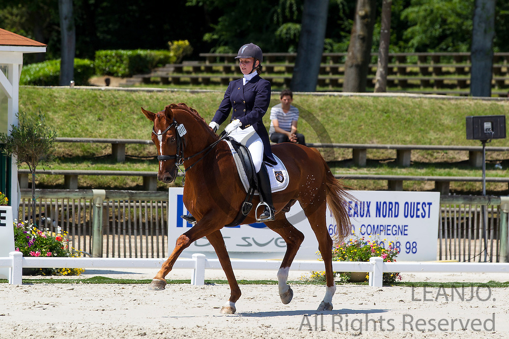 Valeryia Markina - Servis<br /> FEI European Dressage Championships for Young Riders and Juniors 2013<br /> &copy; DigiShots