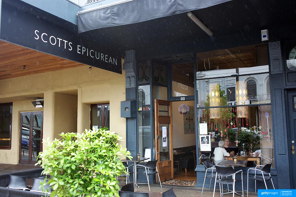Scotts Epicurean Cafe, Victoria Street, Hamilton, .New Zealand,, 16th December 2010. Photo Tim Clayton.