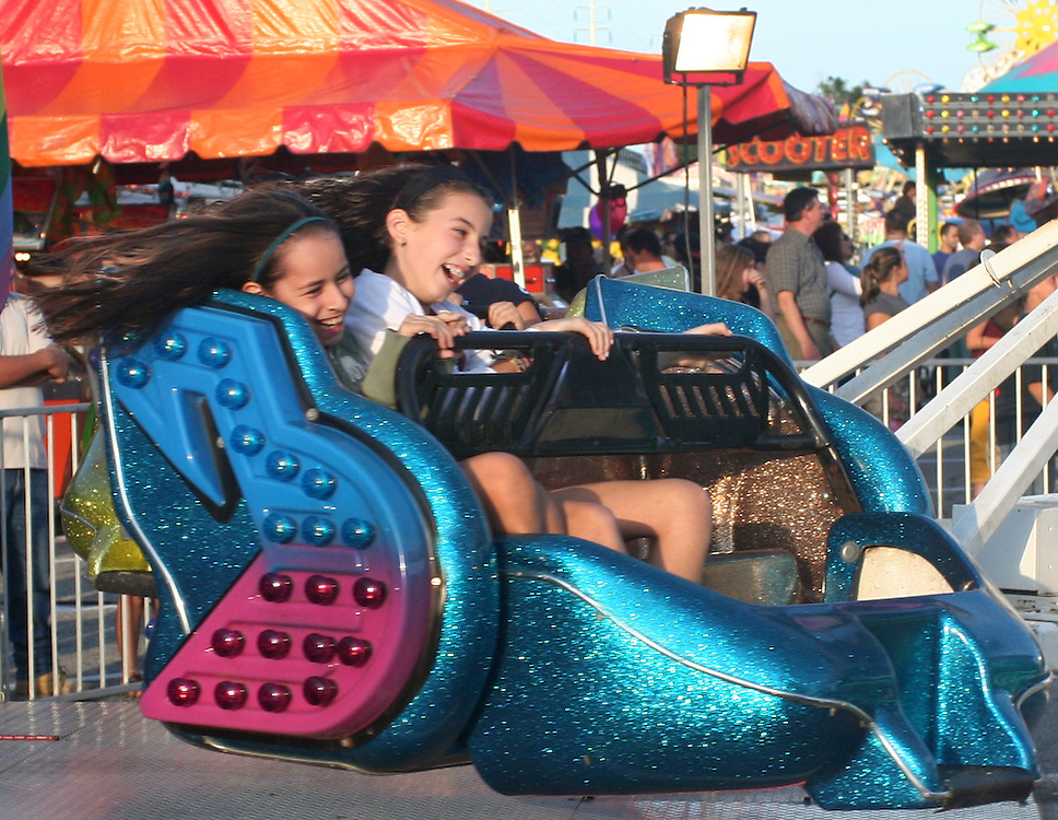Whip ride at a Bellmore, Long Island, carnival.