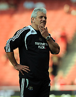 Fotball<br /> England<br /> Foto: Fotosports/Digitalsport<br /> NORWAY ONLY<br /> <br /> An Unhappy Kevin Keegan Manager in his last match in charge before been Sacked today 02/09/08<br /> Newcastle United 2008/09<br /> Arsenal V Newcastle United (3-0) 30/08/08<br /> The Barclays Premier League