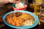 Authentic Mexican food at Burrito Vaquero in Roseburg, Oregon.