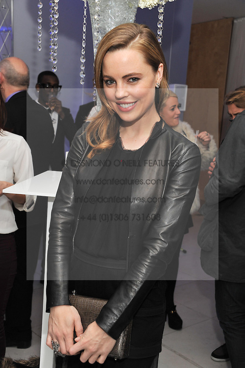 MELISSA GEORGE at the pre party for the English National Ballet's Christmas performance of The Nutcracker held at the St.Martin's Lane Hotel, St.Martin's Lane, London on 14th December 2011.