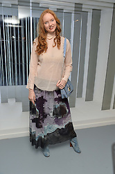 LILY COLE at the Louis Vuitton Series 3 VIP Launch held at 180 Strand, London on 20th September 2015.