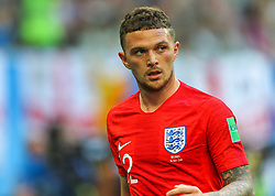 July 14, 2018 - Saint Petersburg, Russia - Kieran Trippier of the England national football team reacts during the 2018 FIFA World Cup Russia 3rd Place Playoff match between Belgium and England at Saint Petersburg Stadium on July 14, 2018 in St. Petersburg, Russia. (Credit Image: © Igor Russak/NurPhoto via ZUMA Press)