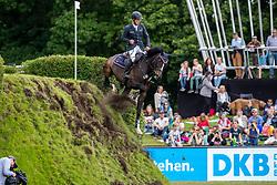 TILLMANN Gilbert (GER), Hadjib<br /> Hamburg - 90. Deutsches Spring- und Dressur Derby 2019<br /> Preis der Deutschen Kreditbank AG<br /> CSI4* - Derby Tour 2. Qualifikation zum Deutschen Spring-Derby <br /> 2. Qualifikation zur Bemer Riders Tour Wertungsprüfung<br /> 31. Mai 2019<br /> © www.sportfotos-lafrentz.de/Stefan Lafrentz