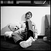 Paul Weller at Nomis studios, London, UK, 1990s.