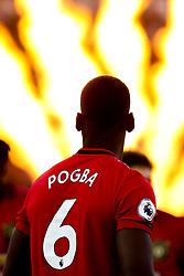 Paul Pogba of Manchester United - Mandatory by-line: Robbie Stephenson/JMP - 19/08/2019 - FOOTBALL - Molineux - Wolverhampton, England - Wolverhampton Wanderers v Manchester United - Premier League