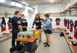 General views inside the changing room - Mandatory by-line: Nizaam Jones/JMP - 23/03/2019 - RUGBY - Shaftesbury Park - Bristol, England - Bristol Bears Women v Richmond Women- Tyrrells Premier 15s