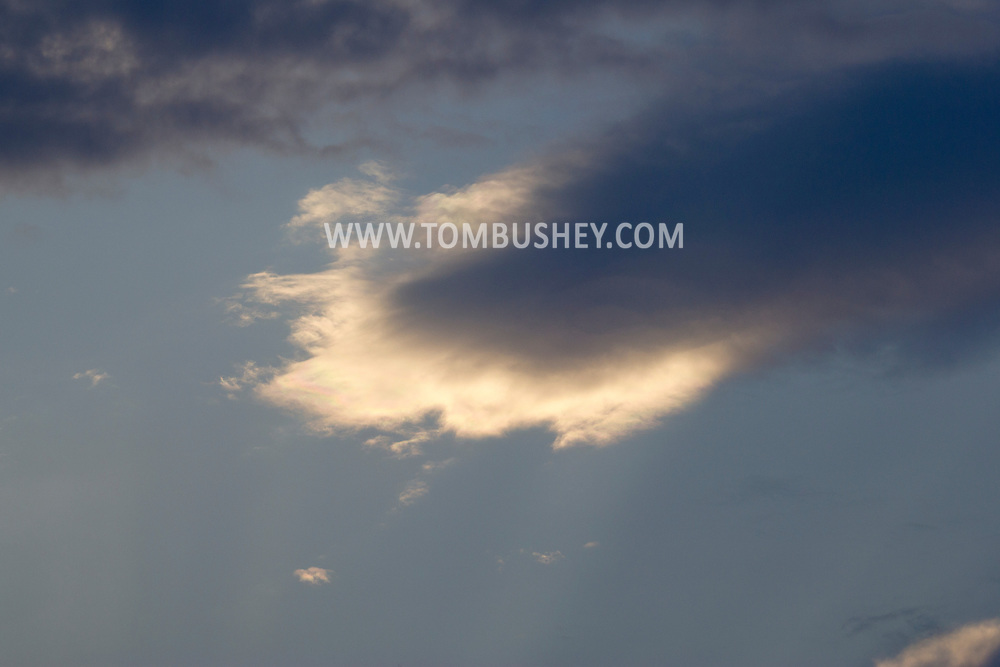Middletown, New York -  Various clouds on  Aug. 5, 2014.