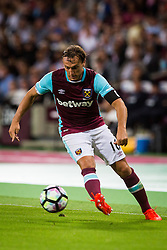 Mark Noble of West Ham during 2nd Leg football match between West Ham United FC and NK Domzale in 3rd Qualifying Round of UEFA Europa league 2016/17 Qualifications, on August 4, 2016 in London, England.  Photo by Ziga Zupan / Sportida