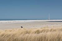 Schiereiland voor de kust bij Ter Heijde